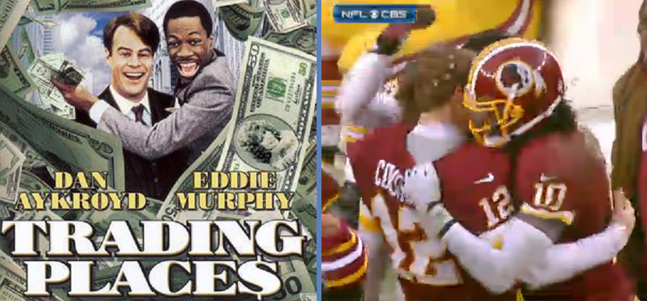 Trading Places Redskins