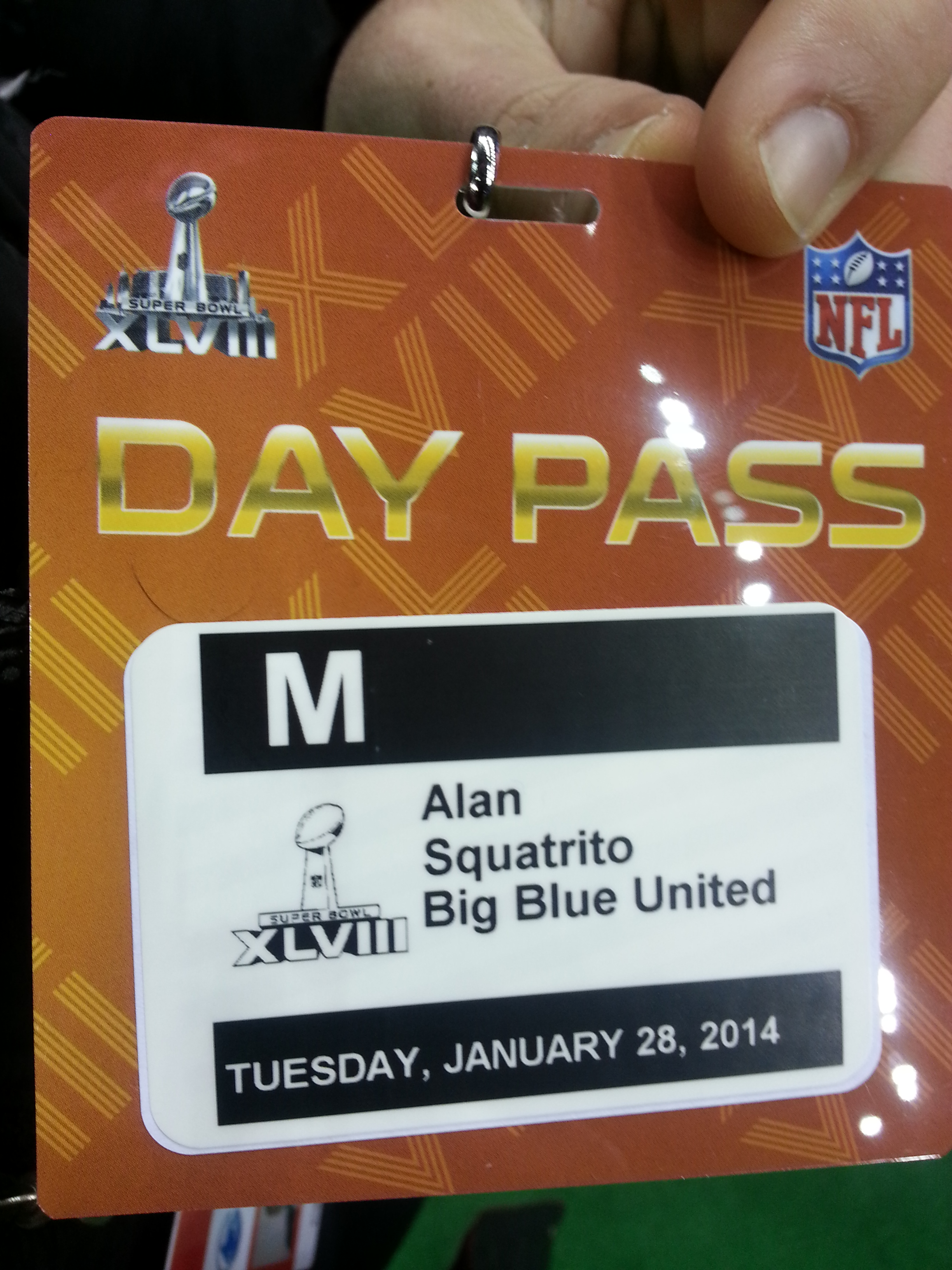 Media Day Pass