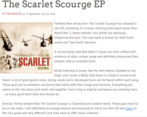 The Scarlet Scourge Accolade